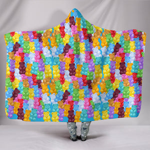 Gummy Bear Hooded Blanket