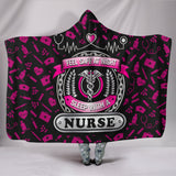 FEEL SAFE AT NIGHT SLEEP WITH A NURSE HOODED BLANKET