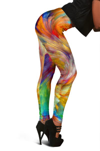 PAINTED SWIRL Leggings