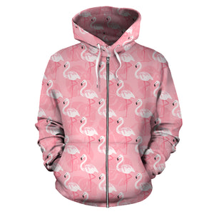 Flamingo All Over Hoodie