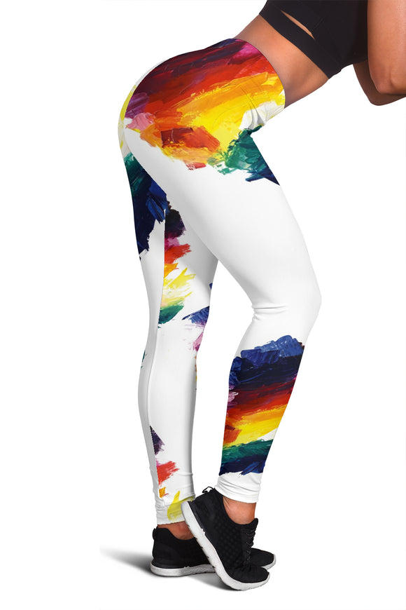 Color Mixing Leggings