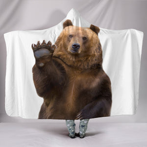 Bear Hooded Blanket