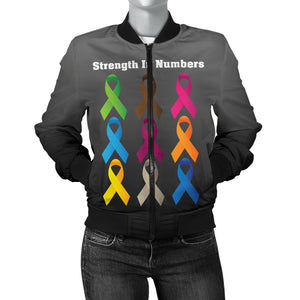 Strength In Numbers Women's Bomber Jacket