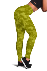 Camo Leggings Yellow