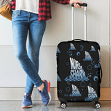 NURSE SHARK LUGGAGE COVER