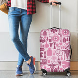NURSE PINK TOOLS LUGGAGE COVER