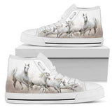 Amazing Shoe for Horse Lovers - Women's High Tops (ws)