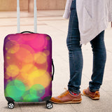Pink Luggage Cover