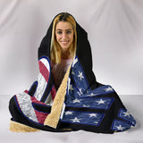 In God We Trust Hooded Blanket