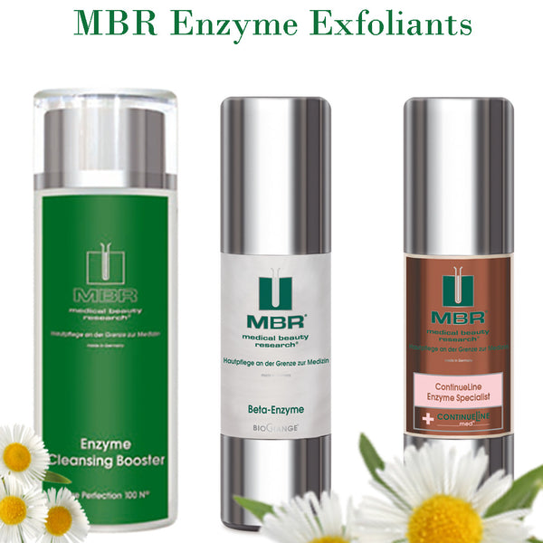 MBR Enzyme Exfoliants and Boosters