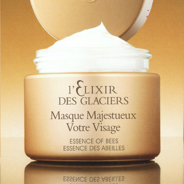 elixir des glaciers masque majestueux creamy mask essence of bees