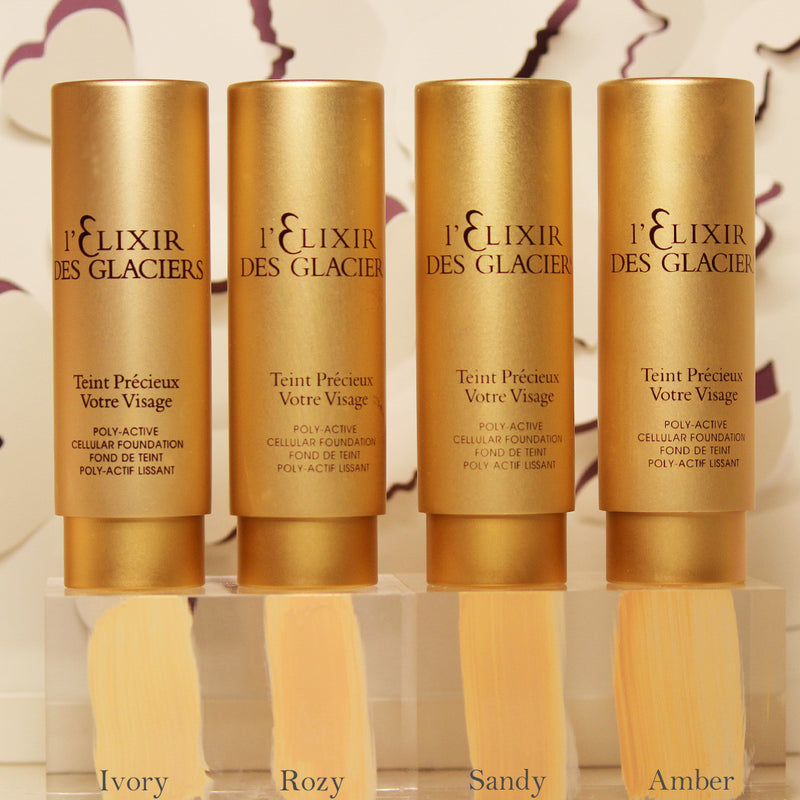 Elixir Des Glacier Teint Poly Active Cellular Foundation 1 oz