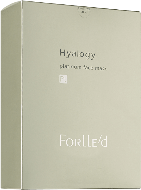 Hyalogy platinum face mask