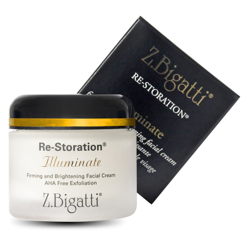 Z. Bigatti Re-Storation Illuminate Firming and Brightening Face Cream 2 oz