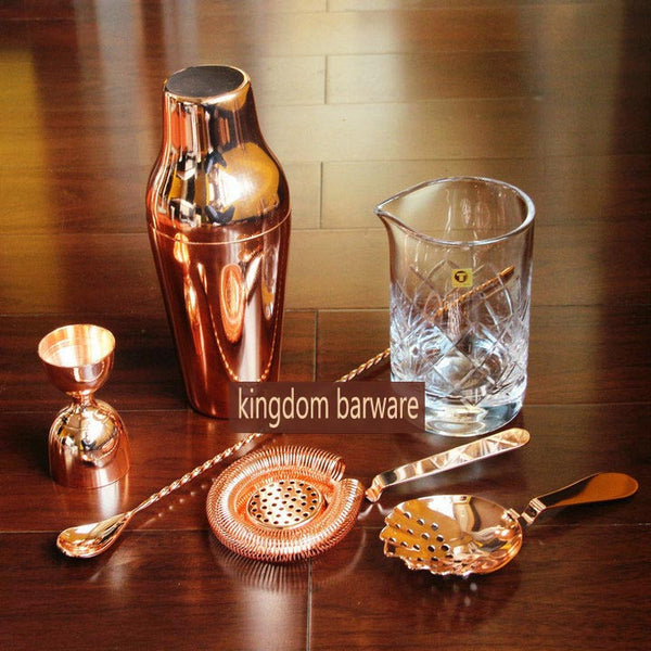 Cocktail Shaker Set - 6 pieces Including Mixing Glass