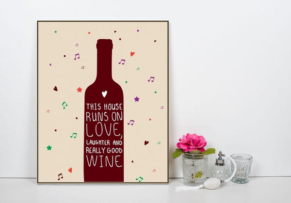 Love, Laughter and Really Good Wine