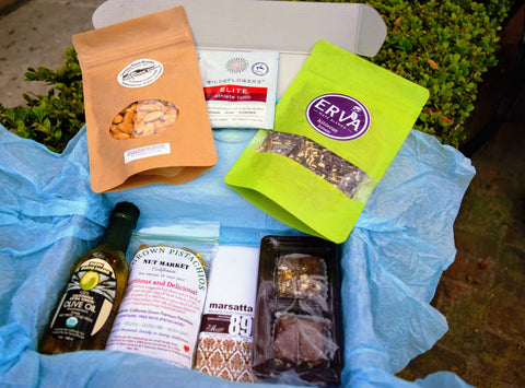 localist snack los angeles best snacks healthy buy local paleo bulletproof chocolate tea olive oil nuts