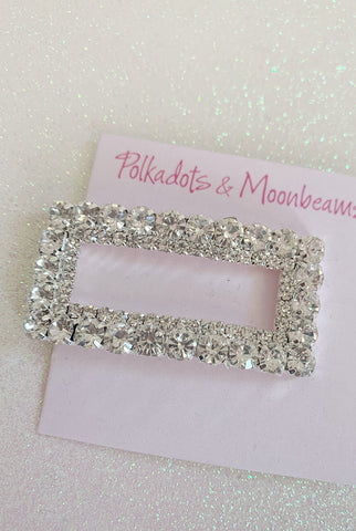 P&M Square Barrette