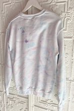 Load image into Gallery viewer, Pale Pastel Tie Dye Sweatshirt
