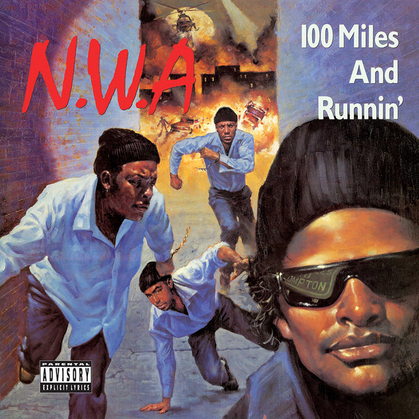 N.W.A. 100 Miles and Runnin' EP LP