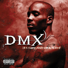 DMX It's Dark and Hell is Hot LP (Gold Vinyl)