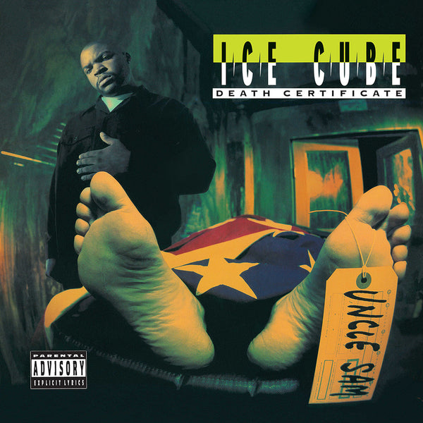 Ice Cube Death Certificate LP