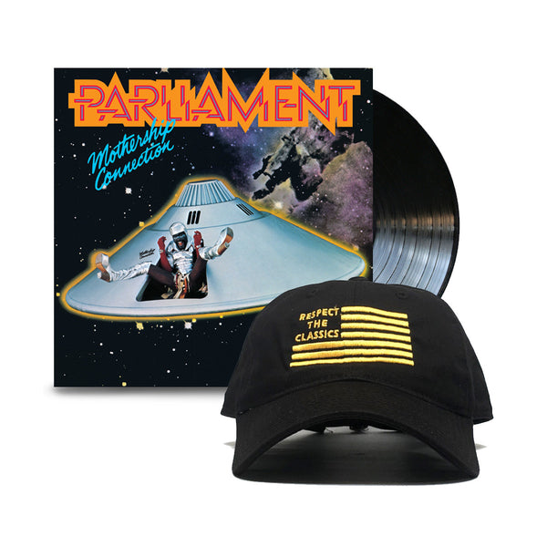 Parliament Mothership Connection RTC Bundle Flag Hat