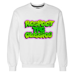 Respect The Classics West Philadelphia White Crewneck Sweatshirt