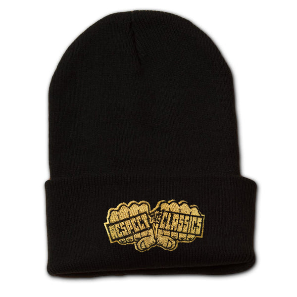 Respect The Classics Knuckles Logo Beanie