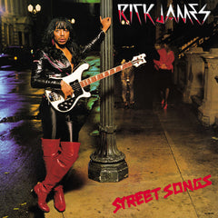 Rick James Street Songs LP