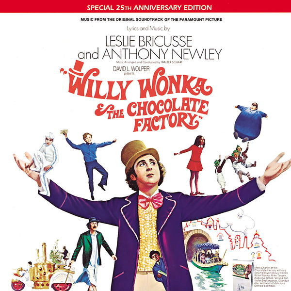 Willy Wonka Willy Wonka Soundtrack (45th Anniversary Gold Picture Disc)