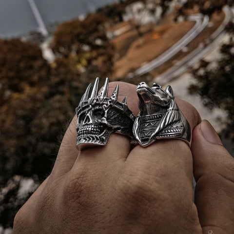 """Crown of Steel"" Ring"