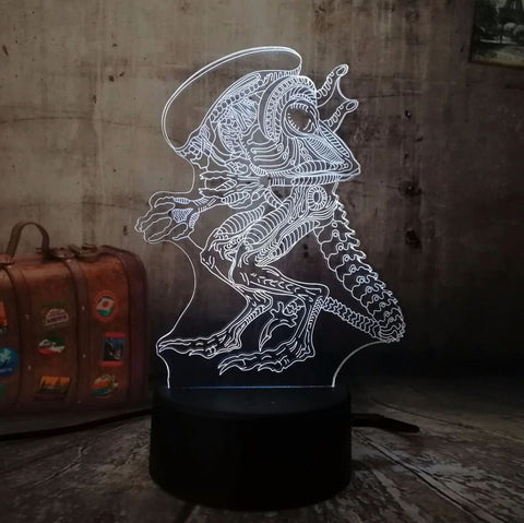 """Xenomorph"" LED Night Light"