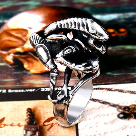 """Xeno Warrior"" Ring"
