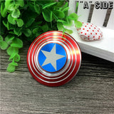 """Cap's Shield"" Metal Spinner"