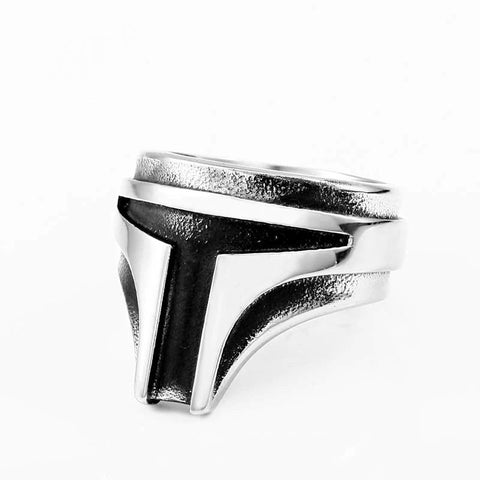"""Bounty Hunter"" Stainless Steel Ring"