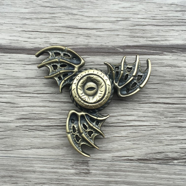 """Targaryen Dragon"" Metal Spinner"
