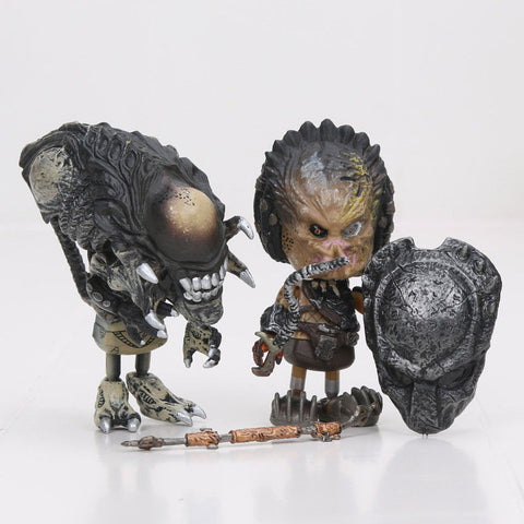 "Alien vs Predator ""Cosbaby"" Collectible Figures"