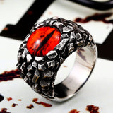 """Sauron's Eye"" Stainless Steel Ring"