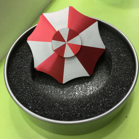 """Umbrella Corp"" Metal Spinner"