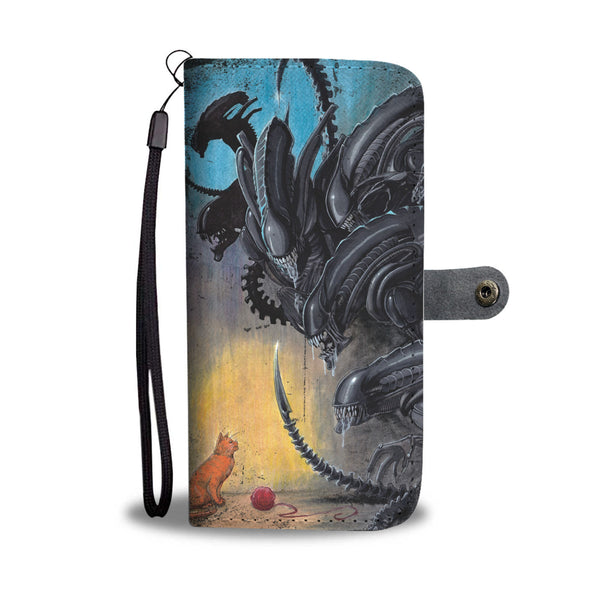 Jonesy vs Aliens Wallet Case