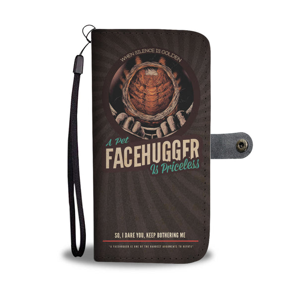 """Pet Facehugger"" Phone Wallet Case"