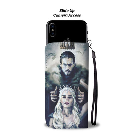 """King and Queen"" Wallet Phone Case"