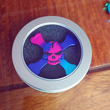 """Skull and Bones"" Metal Spinner"