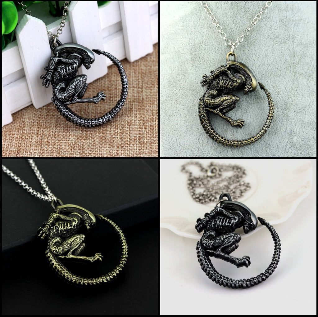 """Xenomorph"" Necklace"