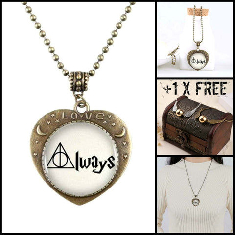 "Collectible ""Always In Our Hearts"" Necklace"