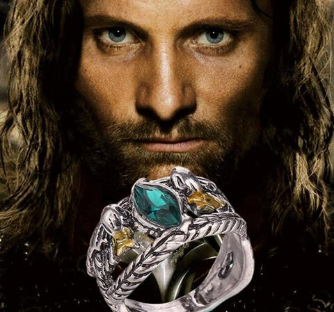 Aragorn's Ring of Barahir (Stainless Steel)