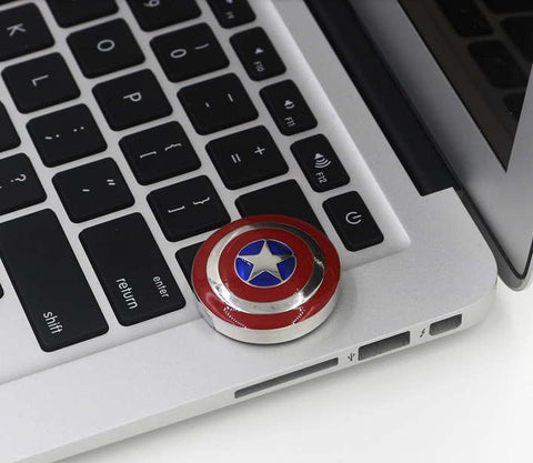 """Cap's Shield"" USB 2.0 Pen Drive"