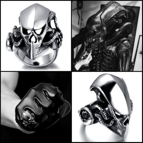 """Original Xenomorph"" Ring"