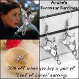 """Leaf of Lorien"" Earrings"